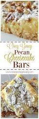 Pecan Pumpkin Bars Paula Deen by Ooey Gooey Pecan Cheesecake Bars Easy Peasy Pleasy