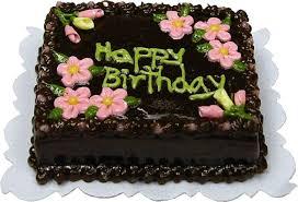 Chocolate Happy Birthday Sheet Cake