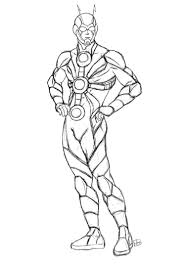Coloringsco Ant Man Coloring Pages