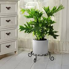 Amazon Amagabeli 10 inch Metal Potted Plant Stand Rustproof