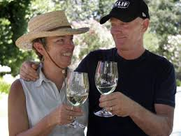 1 Of Clif Family Winery Owners Kit Crawford And Gary Erickson At Their Pope Valley Ranch