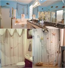 fischernetz deko badezimmer wand seesterne muscheln