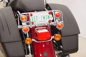 Harley Davidson Light Bar by Chrome Dresser Light Bar With 4 Marker Lights 97 08 Harley Touring