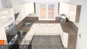 küchenplanung helle und moderne u küche küche planen