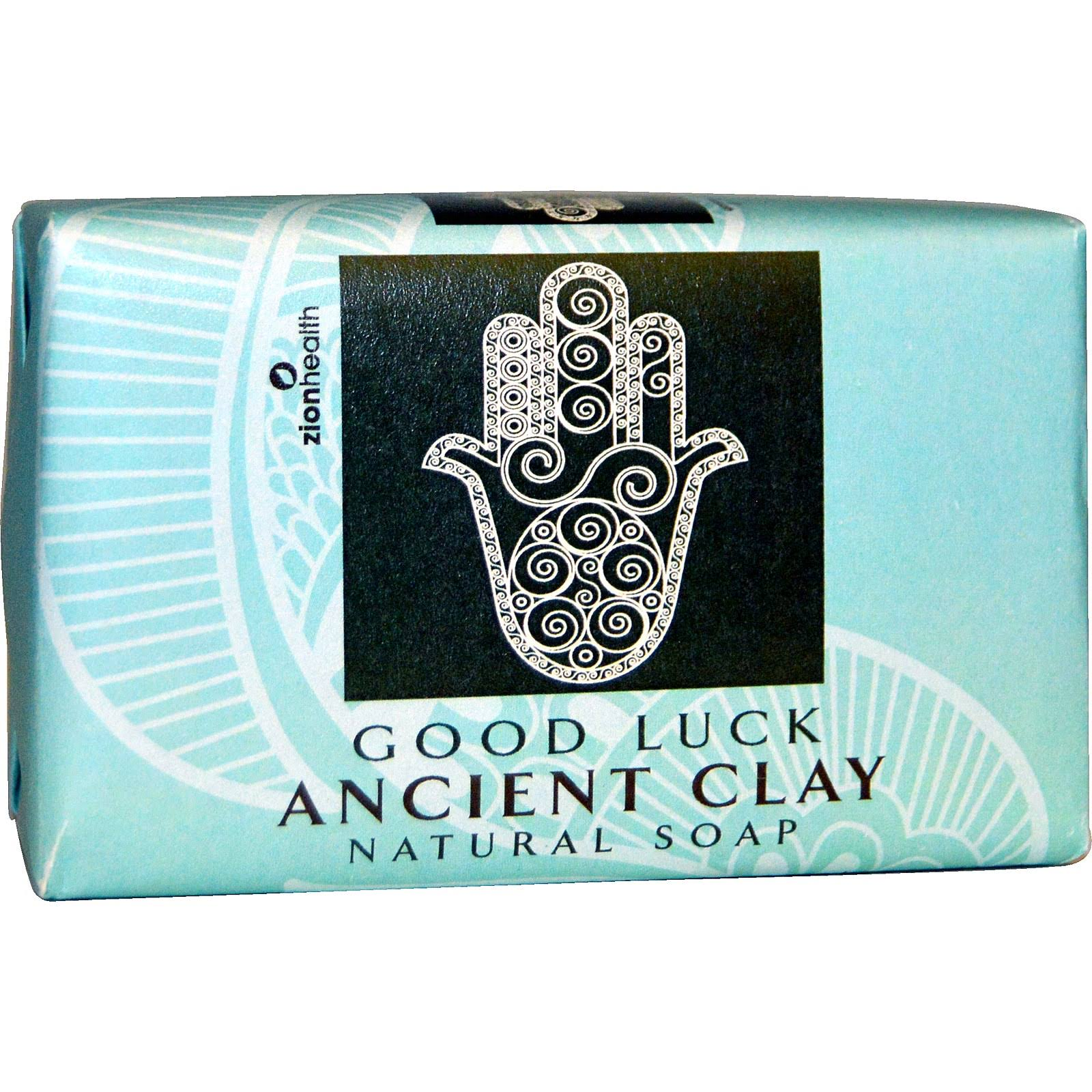 Zion Health Natural Clay Soap - Good Luck, 180ml
