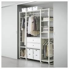 Brusali Wardrobe With 3 Doors by Mesmerizing Storage Closet Ikea 109 Closet Storage Ikea Hacks
