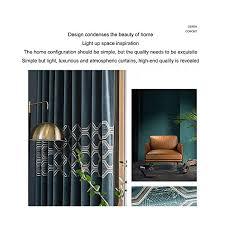 youlubedding hochwertige gold samt perforierte vorhänge modern minimalist luxuxwohnzimmer schlafzimmer arbeitszimmer blackout vorhang