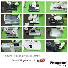 Mitsubishi Projector Lamp Replacement Instructions by Mogobe Vlt Xd700lp Compatible Projector Lamp With Housing For