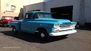 1958 Chevy Panel Truck For Sale New Chevrolet Apache Classics For ...