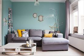 grey and teal living room interior design
