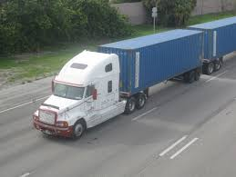 100 Simi Truck File40 Foot Container Double Semi Truckjpeg Wikimedia Commons