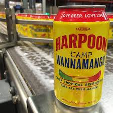 Harpoon Ufo Pumpkin Clone by Harpoon Releases Camp Wannamango Pale Ale Brewbound Com