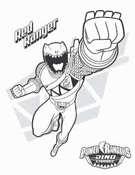 Power Rangers Coloring Pages Printable