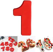 dubens große anzahl 0 9 kuchenform backen jubiläum zahl geburtstag hochzeit jahrestag kuchen dose silikon nummern backform zahlen silikonform ziffer