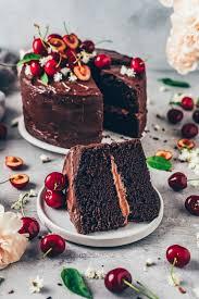 der beste vegane schokoladenkuchen
