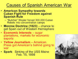 Sinking Of The Uss Maine Apush by Spanish American War Ppt Video Online Download