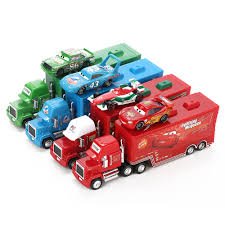 Disney Pixar Cars 2 Toys 2pcs Lightning McQueen City Construction ...