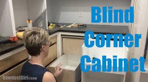 Blind Corner Kitchen Cabinet Ideas by Blind Corner Cabinet Youtube