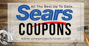sears coupons sales coupon codes 10 jan feb 2018 one