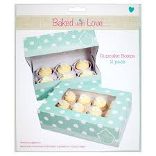 Baked With Love 6 Cup Cake Or 12 Fairy Boxes 2 Per Pack