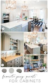 Gray Kitchen Cabinets Colors Best Paint For Cabinets Joanna U0027s Favorite Kitchen Cabinet Paint