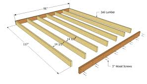 12x16 Shed Kit With Floor by Shed Floor Plans Anyone Can Build A Shed Shed Plans Package