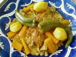 recette cuisine couscous tunisien couscous tunisien aux côtelettes d agneau la tunisienne