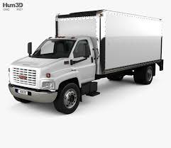 100 Top Kick Truck GMC Kick C6500 Box 2003 3D Model Vehicles On Hum3D