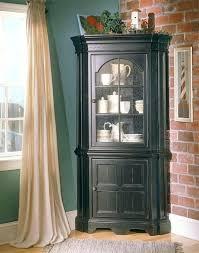 Storage Cabinets Ideas Dining Room Curio Corner Cabinet A Modern Small Hutch