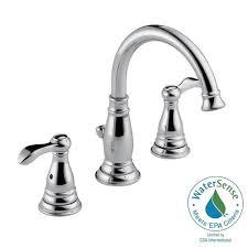 Delta Windemere Bathroom Faucet by Delta Bathroom Faucets Widespread Best Bathroom Decoration