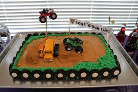 100 Monster Truck Cake Pan 10 Number 7 S Photo Boys Birthday