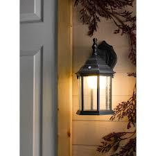 honeywell ss0101 08 led outdoor wall mount lantern light 3000k