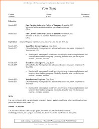 Resume Template For College Student Luxury Grad Templates Unique Recent Graduate Of Infographic Perfect