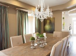 The Drapes In This Cardinal Point Model Home Add A Dramatic Effect To Dining Room