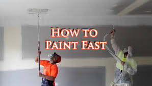 airless paint sprayer for ceilings save time painting a house with an airless spray gun