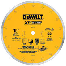 Tile Saw Blades Home Depot by Dewalt Diamond Blades Saw Blades The Home Depot