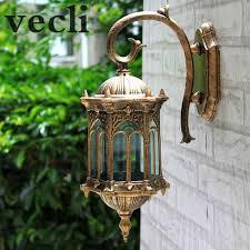 popular retro outdoor wall light favorable europe villa sconce