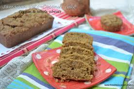Jamaican Toto – coconut cake Vegan whole wheat version