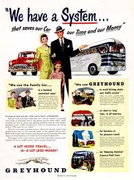 Does Greyhound Bus Have Bathrooms by 1949 Greyhound Bus Lines Original Vintage Advertisement We Have A