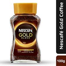 Nescafe Gold Blend Instant Coffee Powder 100g Eden Jar