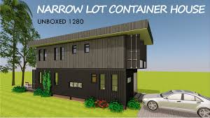 100 Narrow Lot Design Shipping Container House Floor Plans For A