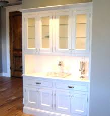 Buffet Server With Hutch White Dining Room And Mirrored Sideboard Table Kitchen Large