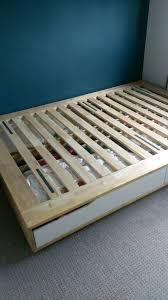 double bed frame base ikea mandal in liberton edinburgh gumtree