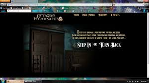 Universal Halloween Horror Nights Auditions by Halloween Horror Nights Orlando Website Update Designingfear