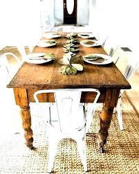Dining Table Farmhouse Style Chairs Charming Long Teak Ideas Extraordinary Room Rugs Farmh Set Glamorous Farm