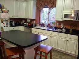 Thermofoil Cabinet Doors Vs Laminate by Biology Mommy Complete Kitchen Makeover Under 3000