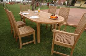 Inspiring Oval Outdoor Dining Sets Furniture Inspiring Outdoor