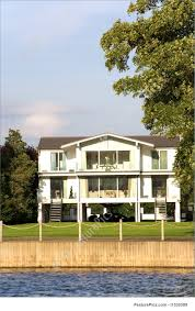 100 River Side House Residential Architecture Modern Large House On River Bank