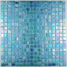 fliesen mosaik glas fur badezimmer imperial bleu