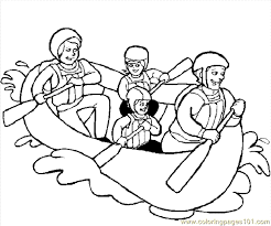 Family Coloring Page 04